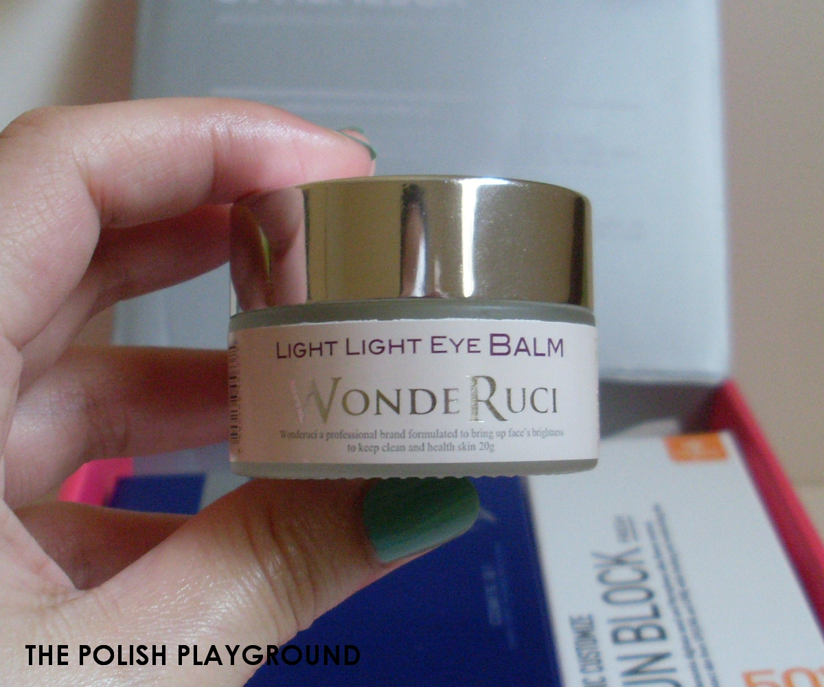 Memebox Nakedbox #8 Unboxing - WondeRuci Light Light Eye Balm