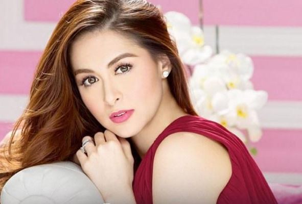 """""""Party like a true star,"""" Says the Stunning Angel Locsin in an Avon Endorsement Shoot With Marian Rivera!"""
