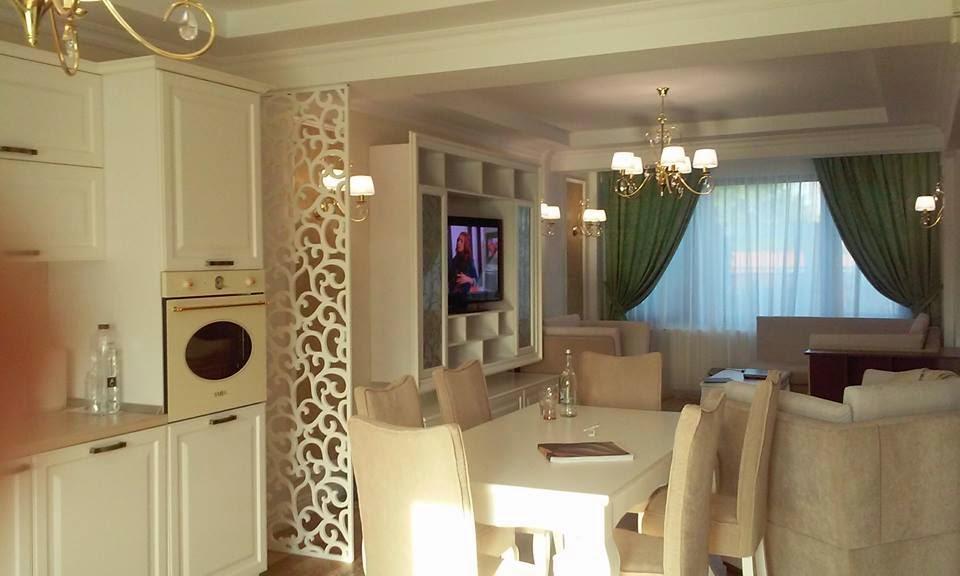 Design de interior - Design - interior - living - cu - bucatarie