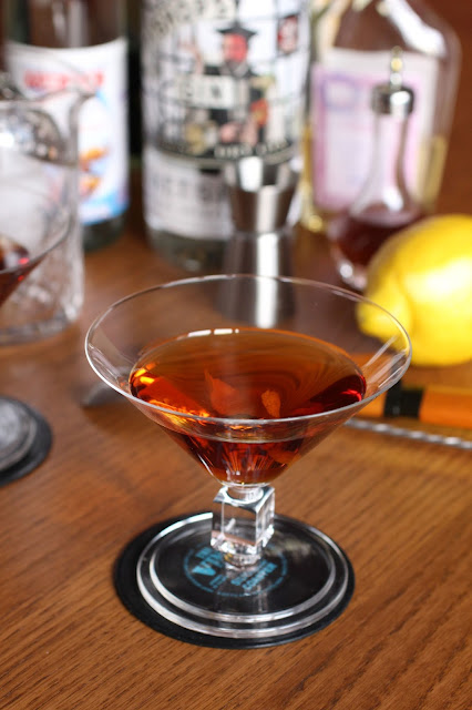martini rouge cocktail