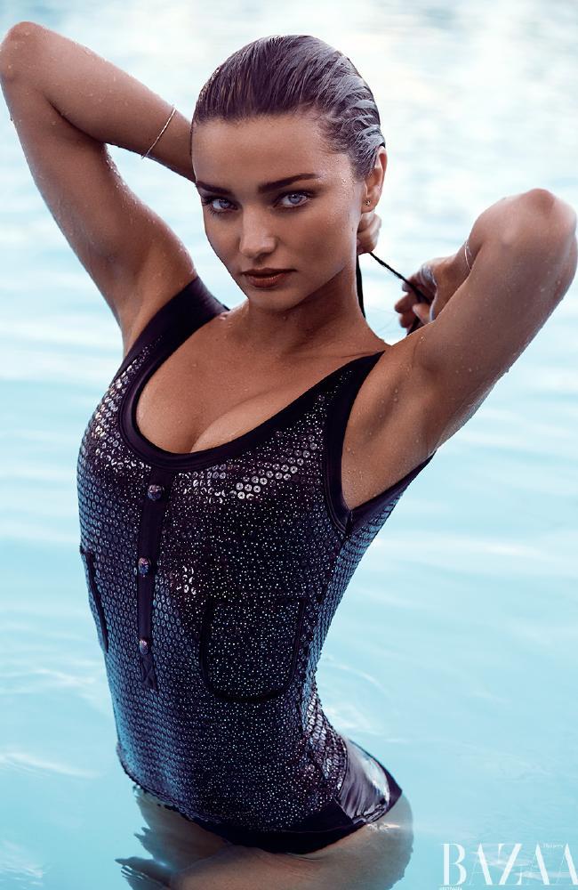 Victoria's Secret Model Miranda Kerr - Bazaar Photoshoot
