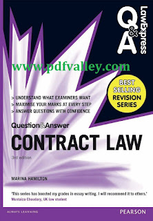 Contract Law (Q&A Revision Guide) 3rd edition
