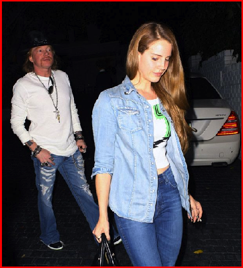 Music Celebration Is Lana Del Rey Dating Axl Rose