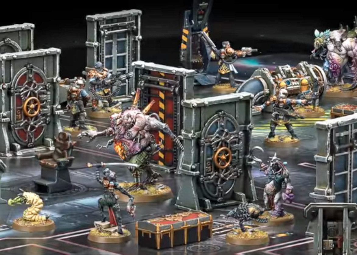Mezmaron S Lair New Games Workshop Rogue Trader Pictures