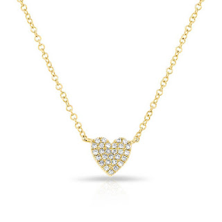 Anne Sisteron Heart Necklace