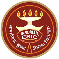 Employees' State Insurance Corporation, ESIC, Uttar Pradesh, Clerk, Stenographer, MTS, LDC DEO, freejobalert, Latest Jobs, Hot Jobs, 10th,  esic up logo