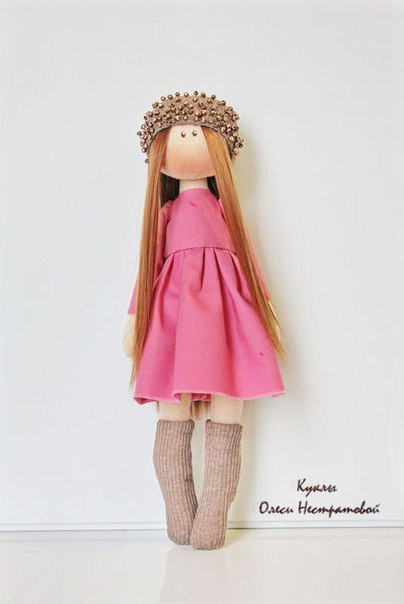 Шьем куколку. Выкройка