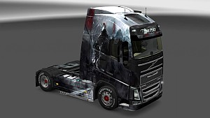 Dark Fantasy Skin Pack for All Trucks