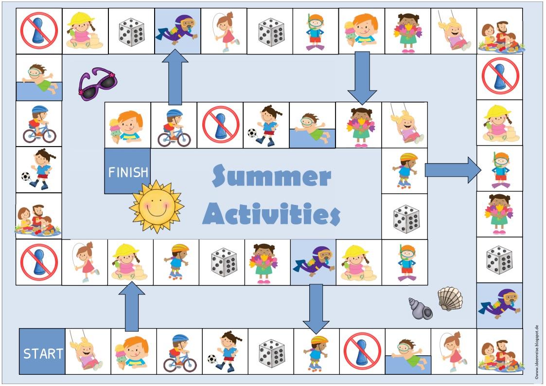 Ideenreise Materialpaket Summer Activities