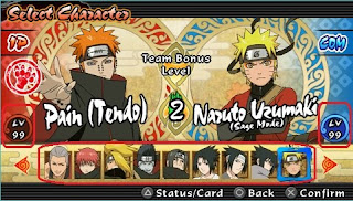 Cheat Naruto Shippude Ultimate Ninja Impack PPSSPP 100 % Work