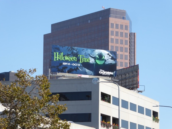 Oogie Boogie Halloween Time billboard