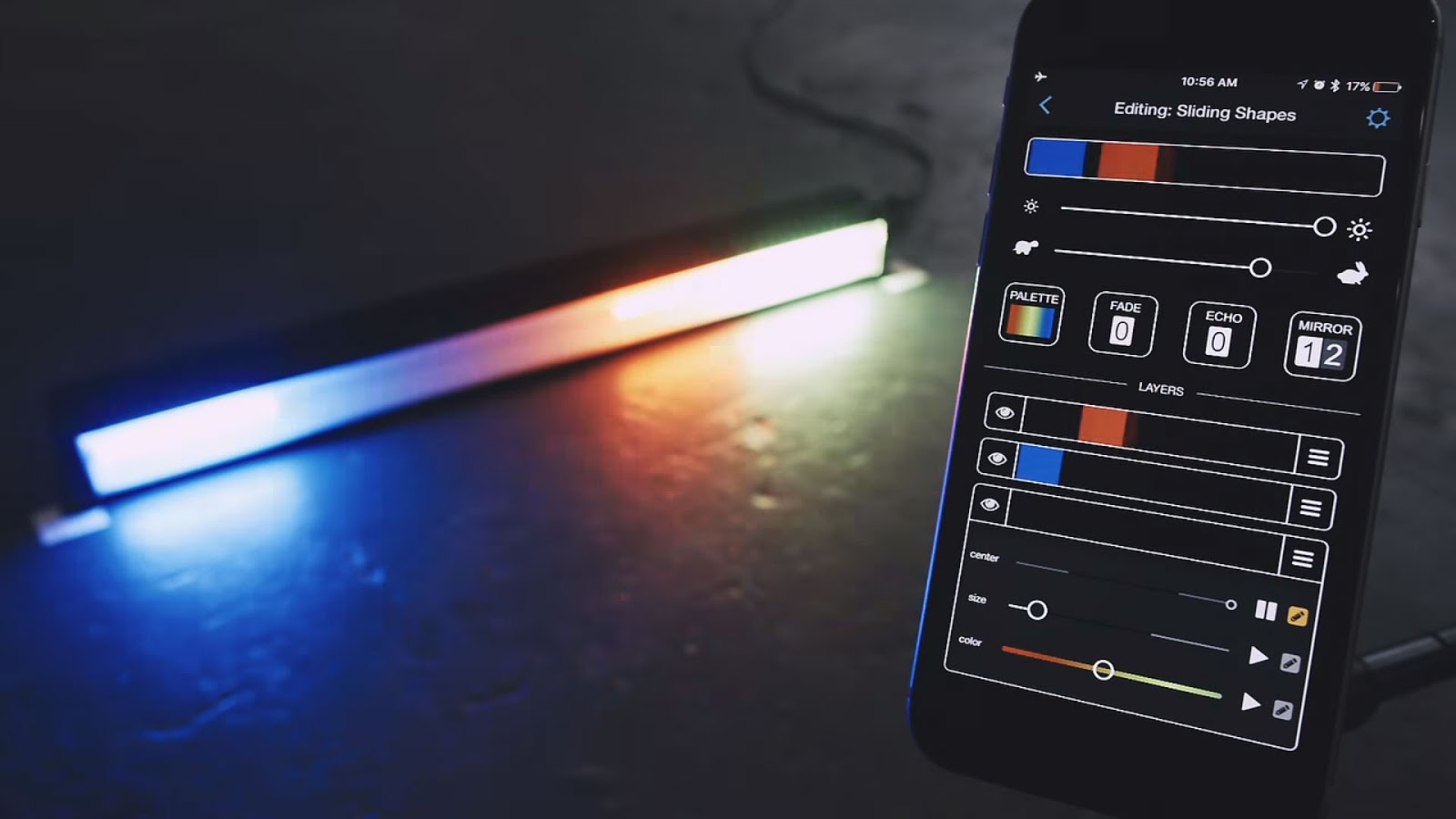 Настройка света и цвета Colorspike