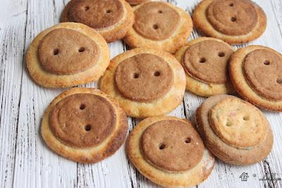 печенье домашнее, домашняя выпечка, печение пуговицы