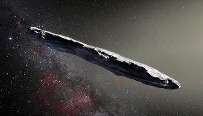 Objek Asing Antar Bintang Apakah Teknologi Alien?