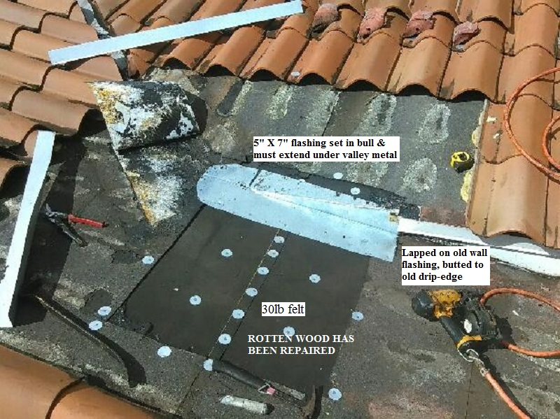 Due To The Inherent Characteristics Of Tile Roofs The Most Common Roof  Repair In Miami Is The U201creturnu201d Rebuild. I Attribute This Partly To The  Fact Most ...