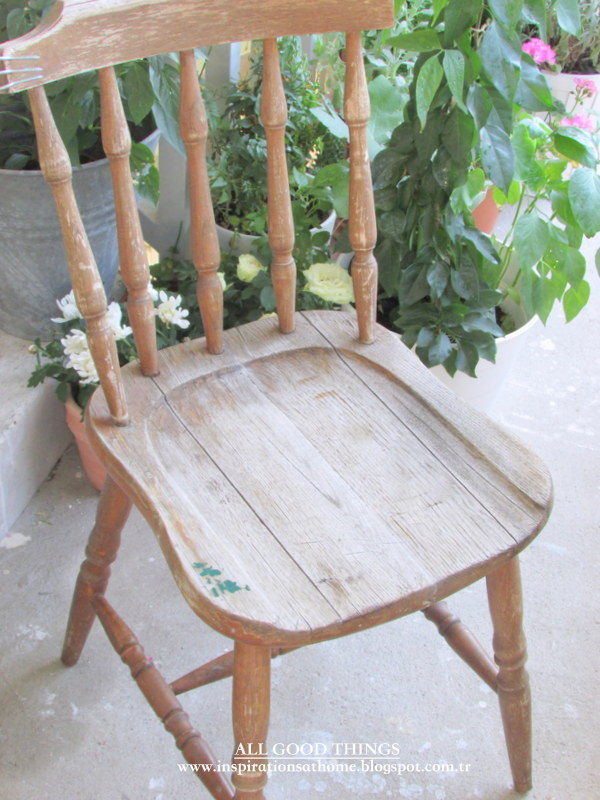 Sandalye Eski
