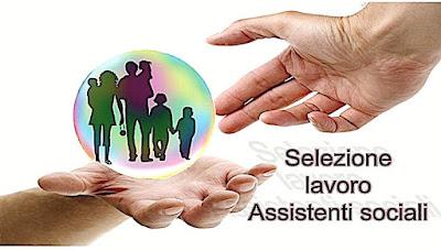 Lavoro per assistente sociale