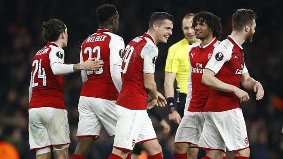 Đội hình Arsenal hi vọng tiến vào top 4