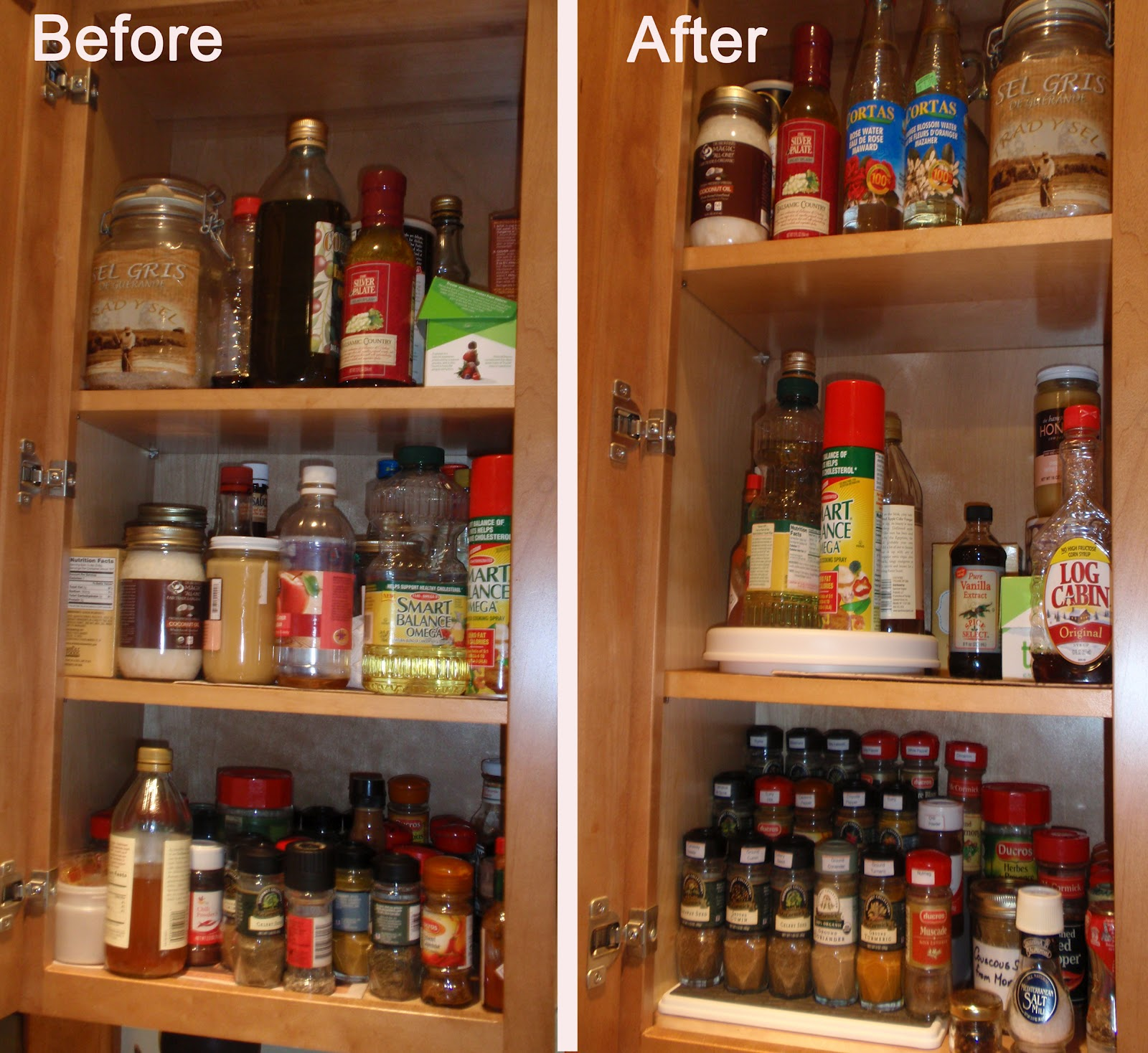 Organization For Kitchen Cabinets: My Great Challenge: Kitchen Cabinet Organization