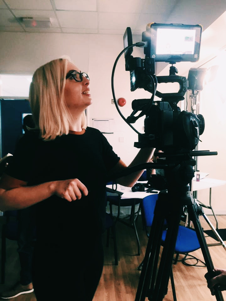 female cinematographer