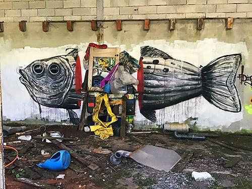 poisson-déchet