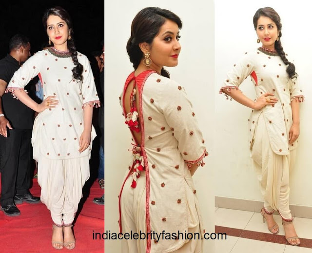 Raashi Khanna in Nikasha Dress