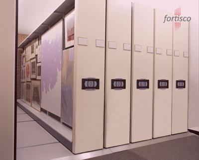 malaysia Art Rack Storage on Mobile Shelving Kuala Lumpur
