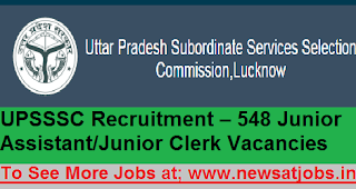 UPSSSC-548-assistant-Recruitment-2017