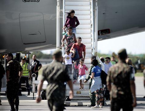 Recife acolhe mais 102 refugiados venezuelanos