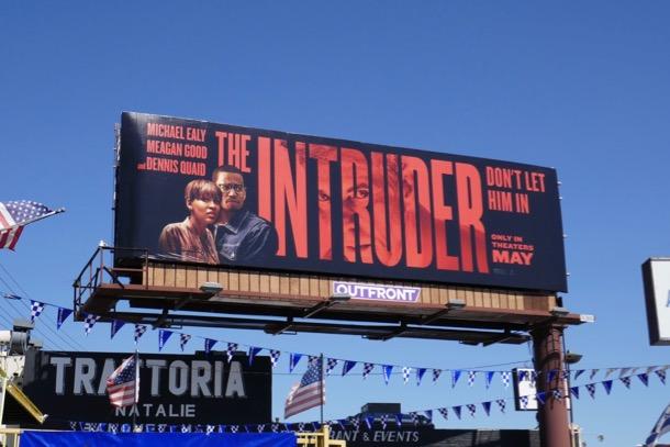 Intruder movie billboard