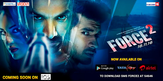Hungama Launches the Official Force 2 Game