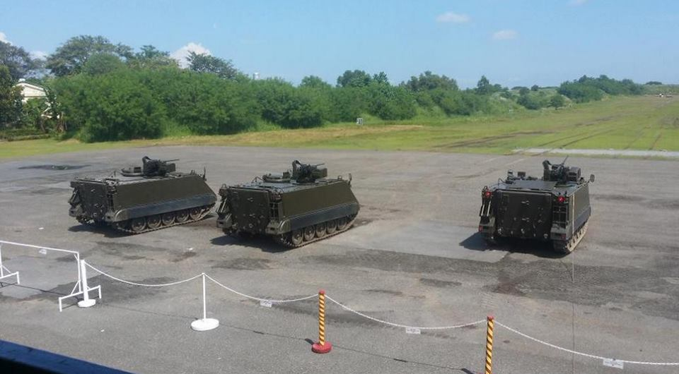 Philippine Army tests new M113A2 tracked armored personnel carrier
