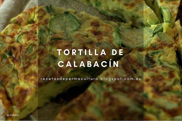 Receta de Tortilla de Calabacín con Pulpa de Calabaza