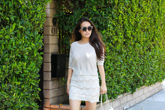 fashion blogger wearing Neutral Colors