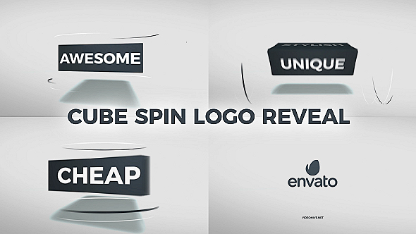 Download Free VideoHive Cube Spin Logo Reveal 20925658 - Free ...