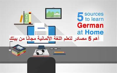 افضل المواقع لتعليم اللغة الالمانية مجانا