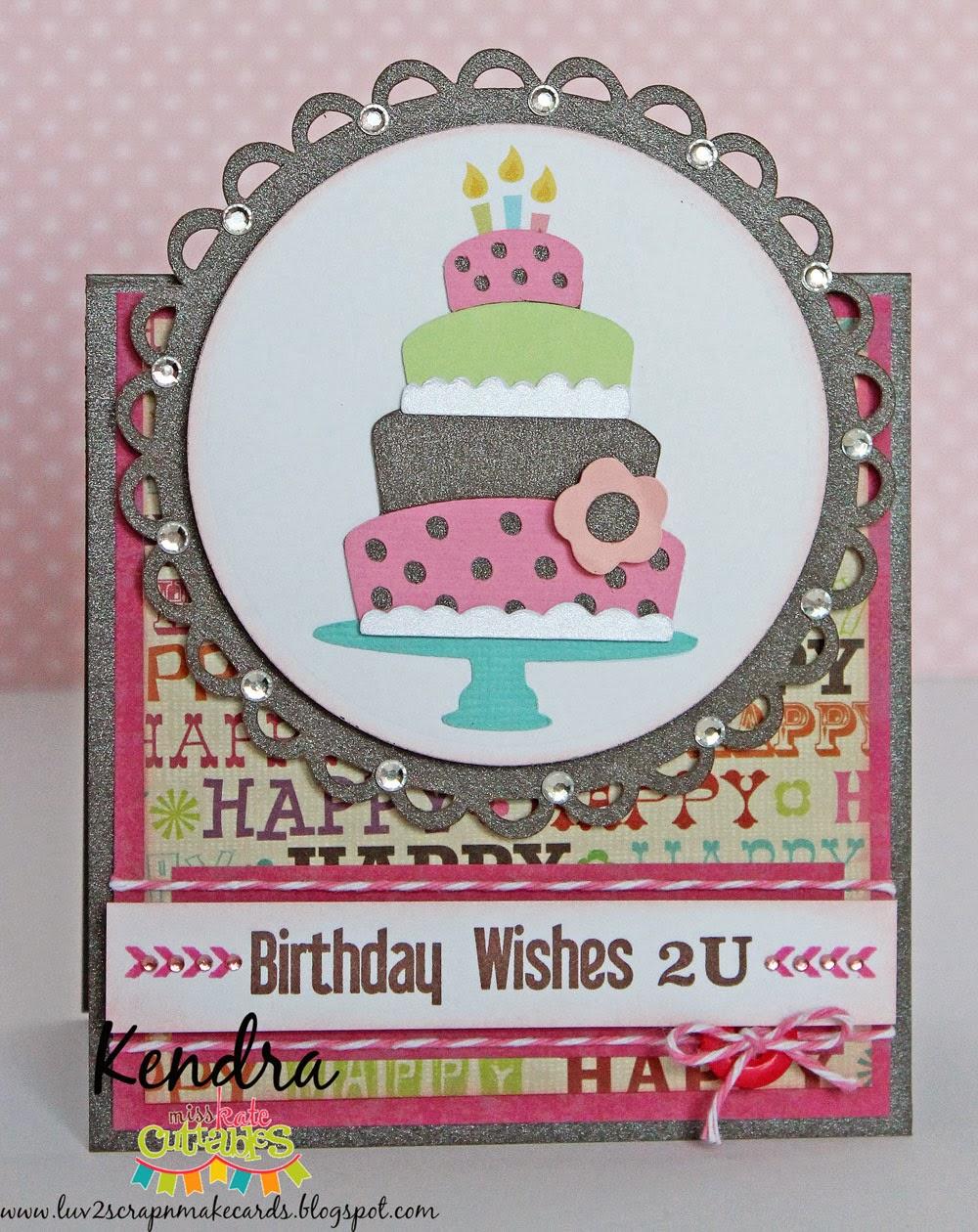 Birthday Cake Scrap Maker