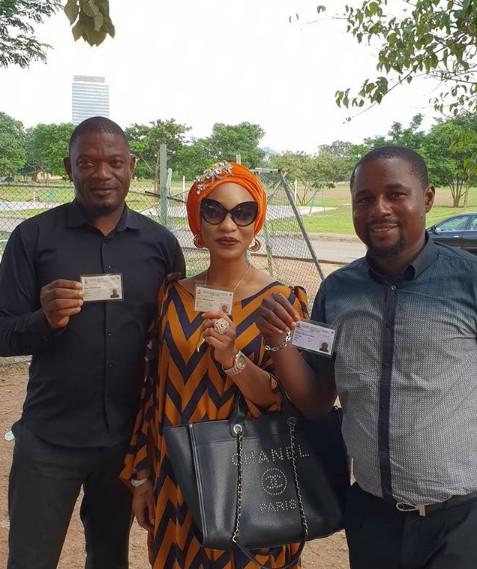 Tonto Dikeh shares photos as she gets her PVC