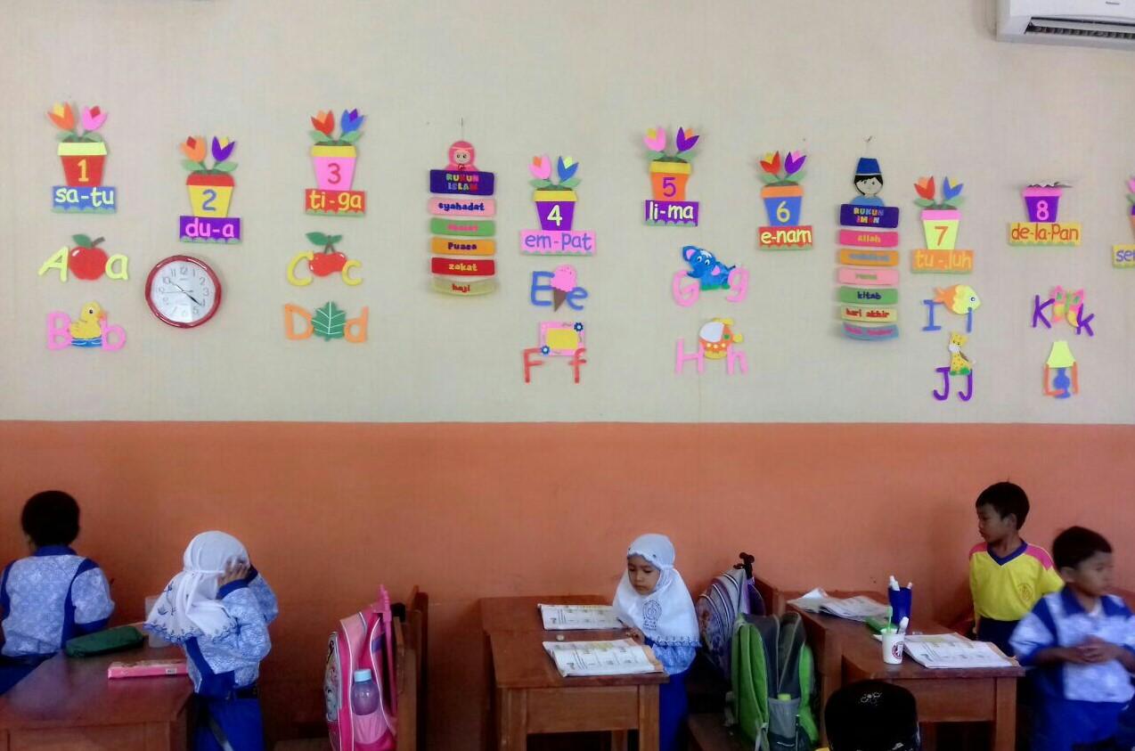 62 Dekorasi Kelas SD Paling Kreatif dan Unik yang Bikin