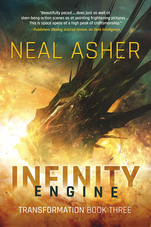 Spotlight on Neal Asher's Transformation