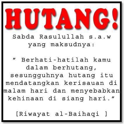 Hukum dan Syarat Utang Piutang Dalam Islam - Artikel Informasi 2013 Tips Tentang Cinta Kesehatan ...