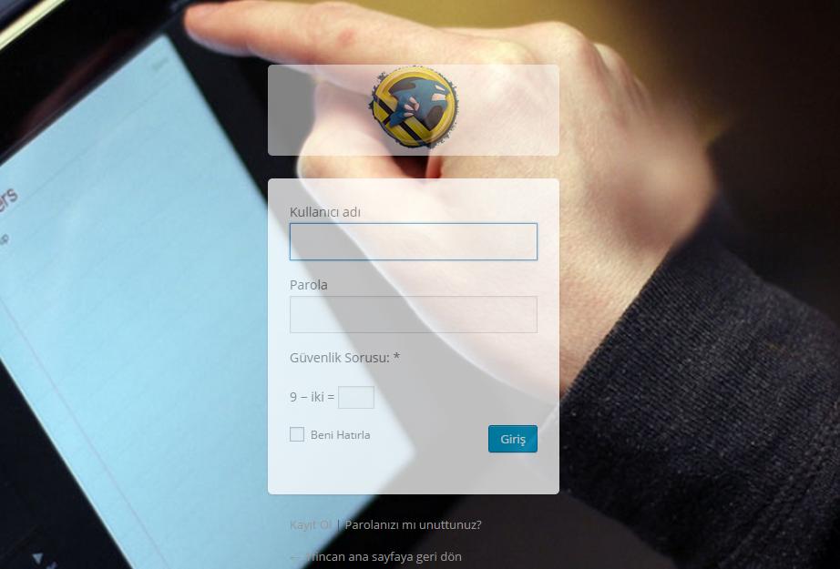 WordPress Giriş Sayfasını Düzenleme