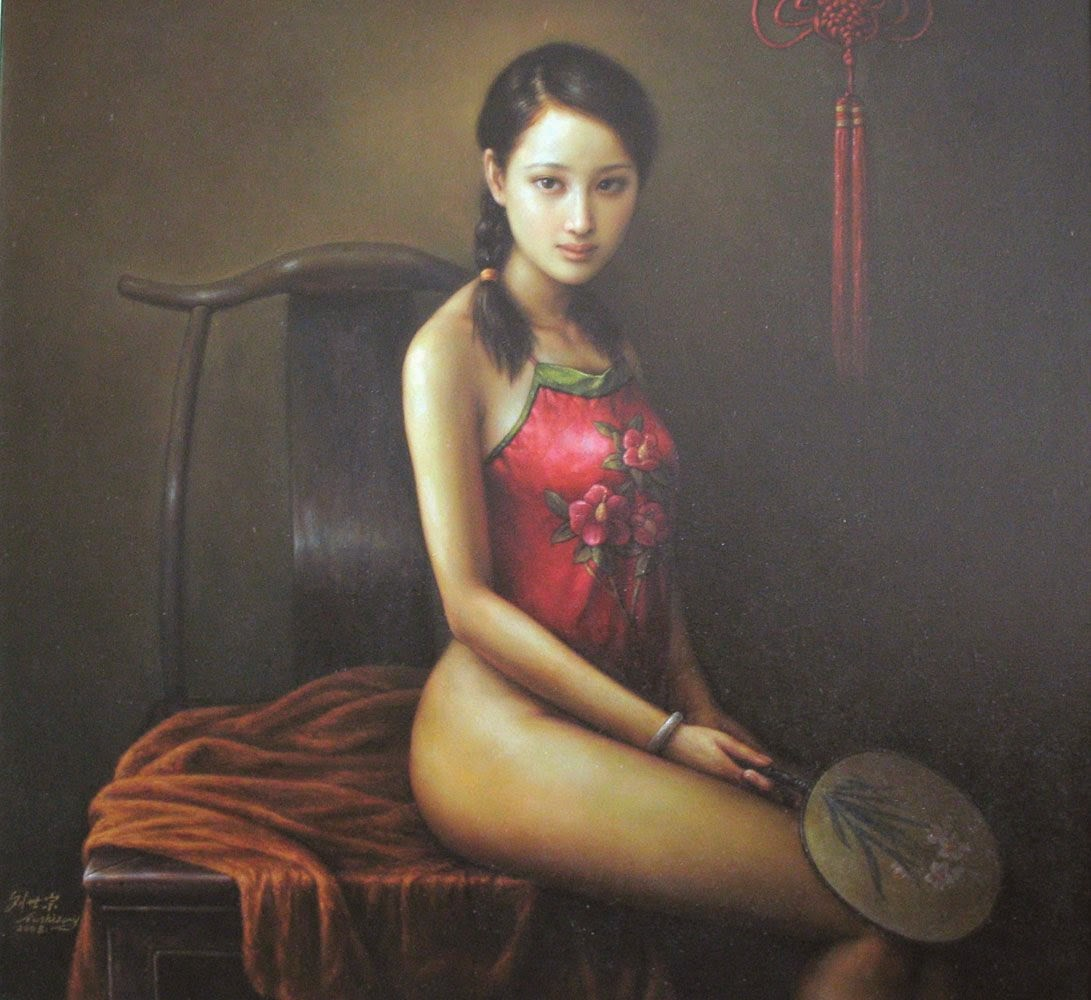 paintings of asian women having sex