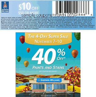 free Sherwin Williams coupons for march 2017