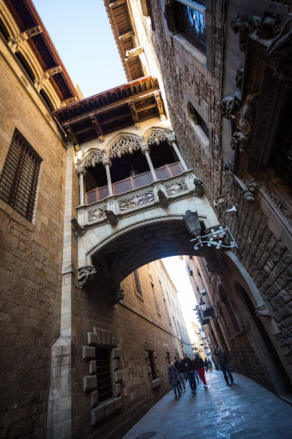 Gothic Quarter Barcelona by Laurence Norah