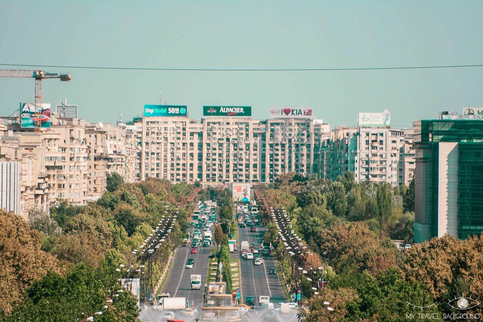 My Travel Background : 3 jours à Bucarest en Roumanie - Boulevard de l'Union Unirii