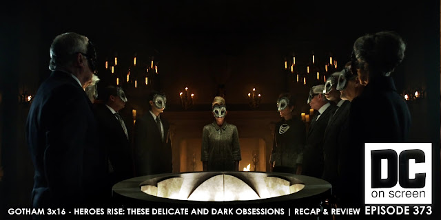 the court of owls convene to decide the fate of Gotham