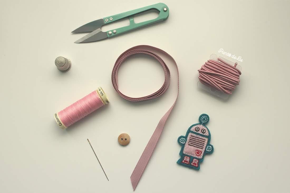 Cómo hacer un bonito marcapáginas - Materiales