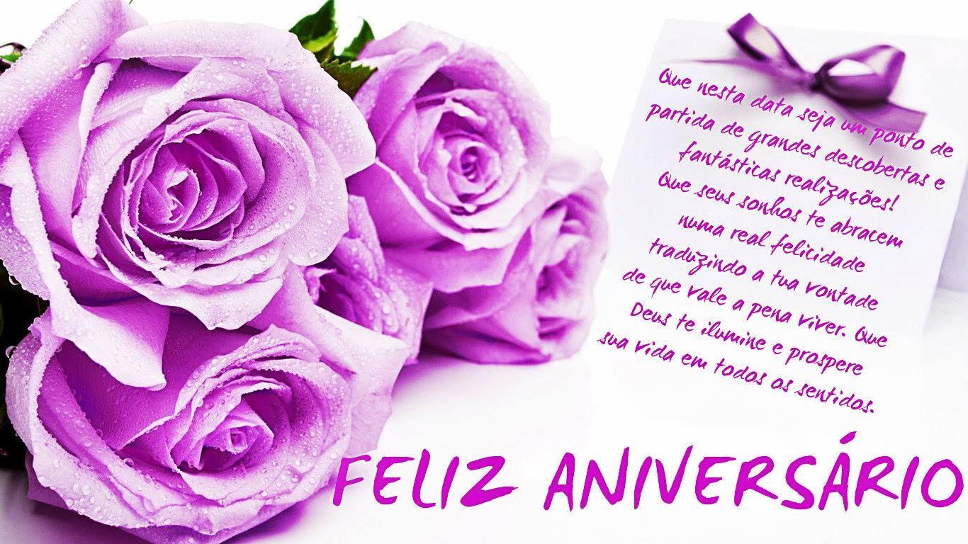 Flores E Mensagens De Aniversário