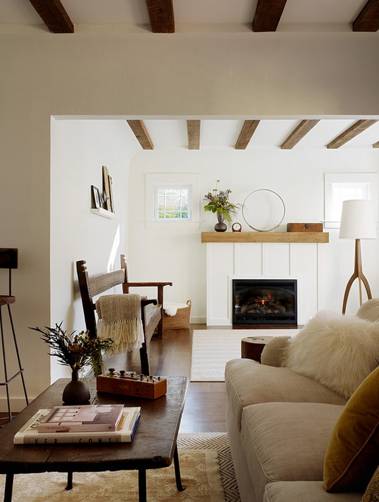 42 Ideas For Living Room Small Rustic Beams Livingroom: The Olde Mill: Laying Out Beams: Tips & Tricks